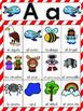 Letra A Vocabulary Cards