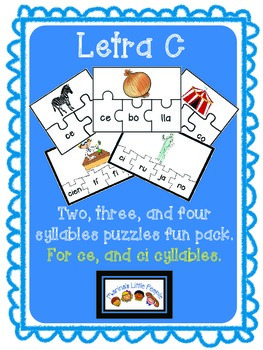 Letra C (for ce ci) Puzzles