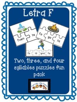 Letra F Puzzles