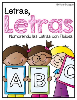 Letras, Letras--Spanish Letter Naming Fluency