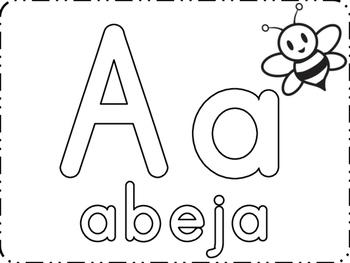 Letras con playdough
