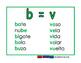 Letras que coinciden verde