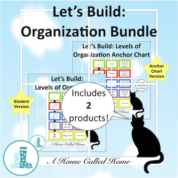 Let's Build: Levels of Organization Bundle