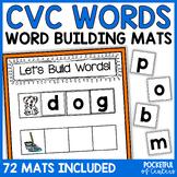 CVC Words Short Vowel Building Game