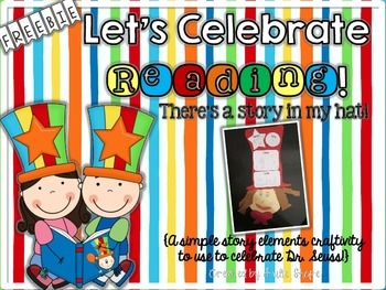 Let's Celebrate Reading! There's a Story in My Hat! {FREEBIE}