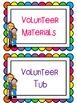 Let's Cheer for Volunteers {organization packet}