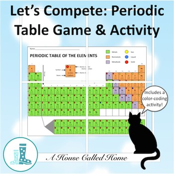 Let's Compete: Periodic Table Activity and Game