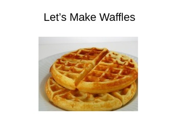Let's Cook Waffles