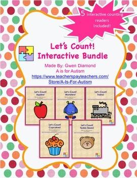 Let's Count!  Interactive Reader Bundle