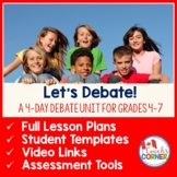 Let's Debate:  A Mini-Unit for Classroom Debates