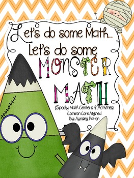 Let's Do Some Math...Let's Do Some Monster Math!! {Common