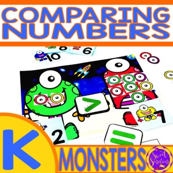 Let's Do The Monster Math - Greater Than, Less Than, Equal