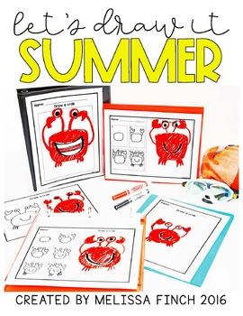 FREEBIE** Lets Draw It- SUMMER