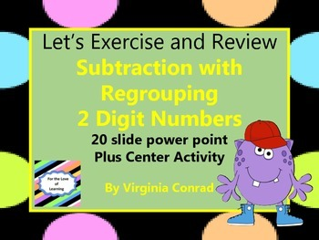 Subtracting 2 Two-digit Numbers with Regrouping