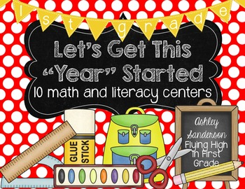 """Let's Get This """"Year"""" Started {1st grade}"""