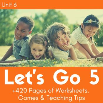 Let's Go 5 - Unit 6 Worksheets