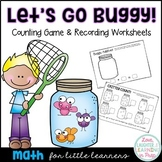 Let's Go Buggy! A hands on counting game full of bug catch