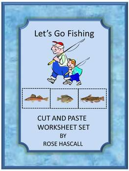 Cut and Paste: Let's Go Fishing Cut and Paste