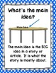 Main Idea, Cause and Effect, Theme Literacy and Science Unit