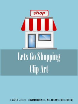 Lets Go Shopping Clip Art