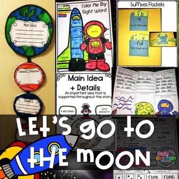 Let's Go to The Moon Supplement Activities Journeys 1st Gr