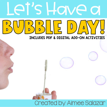 Bubble Themed Day