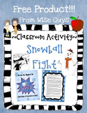 Snow Day: Snowball Class Fight!