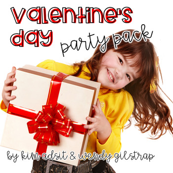 Valentines Day Party Pack by Kim and Wendy
