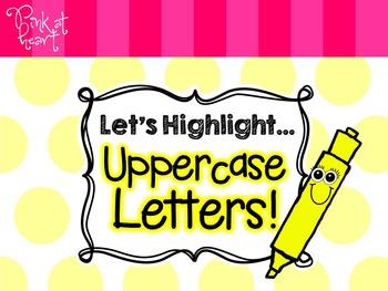 Let's Highlight... Uppercase Letters