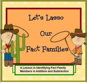 Let's Lasso Our Fact Families