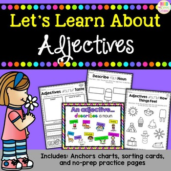 Let's Learn About - Adjectives