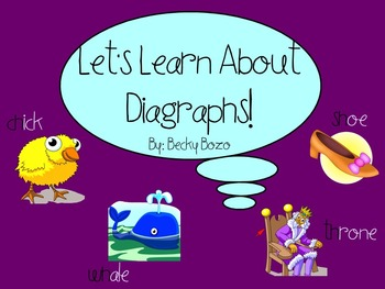 Let's Learn About Digraphs - Smart Board Lesson