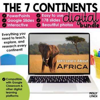 Continents - A PowerPoint Trip to the Seven Continents