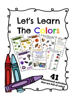 Let's Learn the Colors ( Posters, activities, game& more)