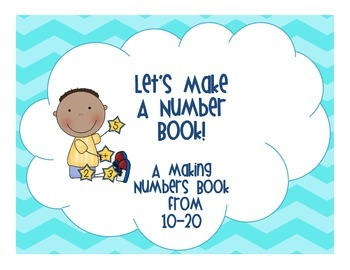 Let's Make A Number Book from 10-20