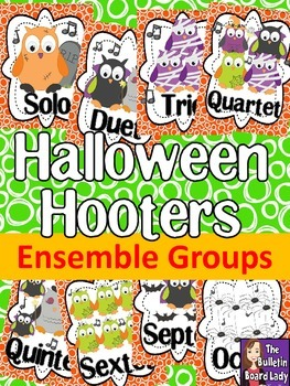 Let's Make BOOtiful Music Halloween Hooters Ensembles Bull