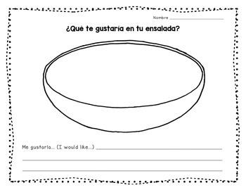 """Let's Make an """"Ensalada"""""""