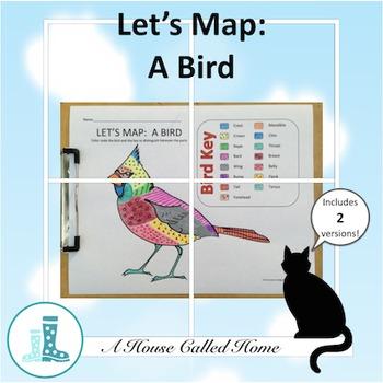 Let's Map:  A Bird