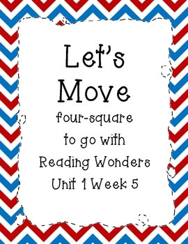 Let's Move Four-Square Writing
