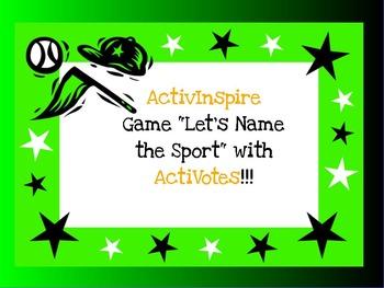 Let's Name that Sport! - Excellent for ELL/ESL/EFL