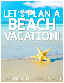 Let's Plan A Vacation - Summer Fun with Budgeting