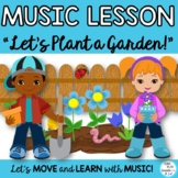 "Orff Game Song: ""Let's Plant a Garden"" Kodaly, Orff , Scie"