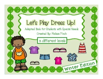 Let's Play Dress-up: Summer Edition- Adapted Book for Stud