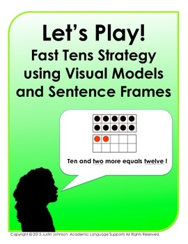 Let's Play!  Fast Tens Strategy Game using Visual Models a