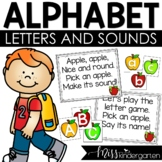 Let's Practice Alphabet Sounds {freebie}