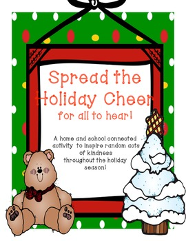 Spread The Holiday Cheer for all to Hear! A month long act