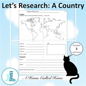 Let's Research: A Country