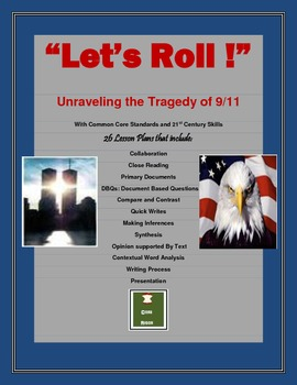 """""""Let's Roll"""": Unraveling the Tragedy of 9/11 with CCSS and"""