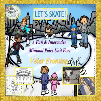 Speech Therapy:Let's Skate! An Interactive Minimal Pairs U