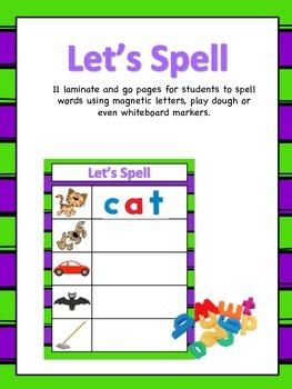 Let's Spell - Early Childhood Spelling Mats